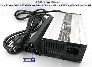 New 36 Volt Ezgo Rxv Golf Cart Battery Charger 36v  5a Rxv
