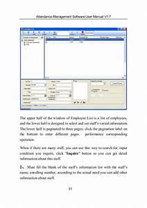 Attendance Management Software User Manual V1 8