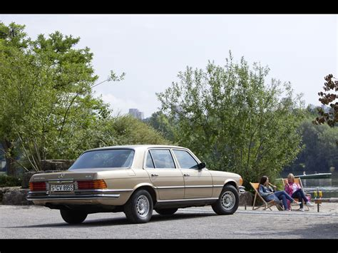 1972-1980 Mercedes-Benz S-Class 116 Series - Rear And Side ...