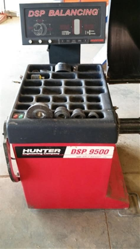Dsp 9500 Tire Balancer  Nextech Classifieds
