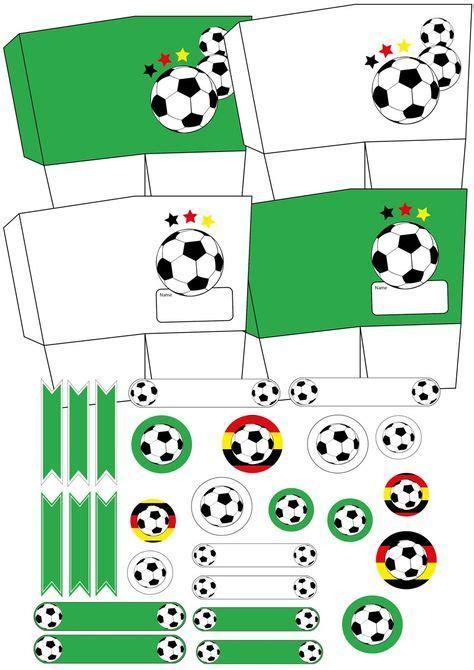 fussball deko basteln fussball geburtstag fussball deko kindergeburtstag fussball und deko