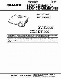 Xv Z2000 And Dt 400 Service Manual