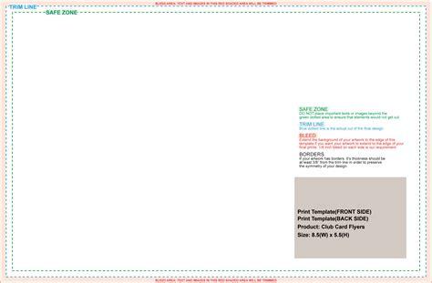 usps postcard template 8 5 x 5 5 standard templates