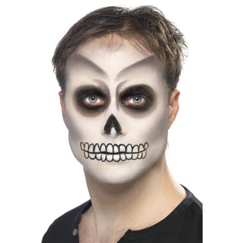 make up skelett skelett make up halloweenschminke skelettschminke makeup kost 252 m zubeh 246 r 3 99