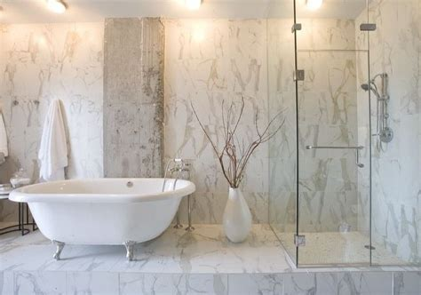 Italian Marble Bathroom Designs: Brings the Elegance into