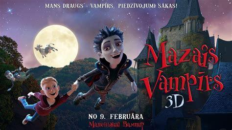 MAZAIS VAMPĪRS / The Little Vampire - trailer (Dublēta ...