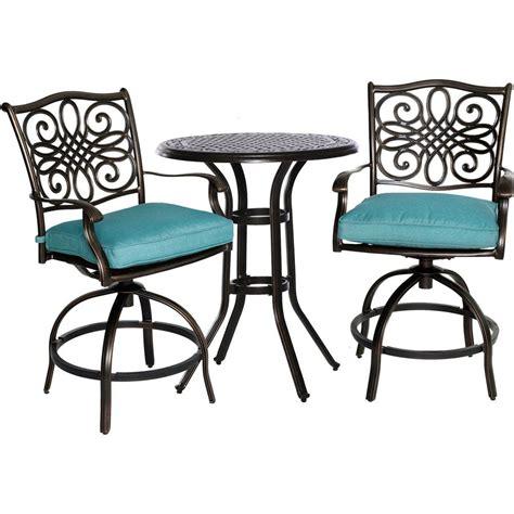 cambridge seasons 3 patio high dining bar set with