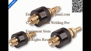 Welding Cable Connector Cable Connectors Plug Socket