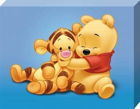 Friends Forever, Pooh and Tigger, Winnie The Pooh - PopArtUK