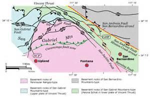 USGS California Fault Line Map