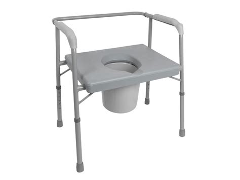 7 Best Bedside Commodes [toilet Chairs] Heavy Duty & Extra