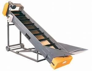 Model 304 Cleated Belt Conveyor