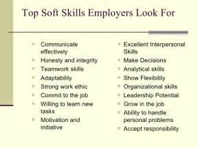 6 skills employers look for on your resume searching 101 skills employers look for