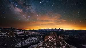 Wallpaper, Yosemite, 5k, 4k, Wallpaper, 8k, Forest, Stars