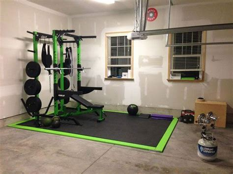 inspirational garage gyms ideas gallery pg  garage gyms home gym flooring home gym