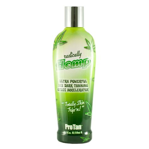 Tanning Bed Lotions With Bronzer by Pro Radically Hemp Accelerator Indoor Tanning Bed