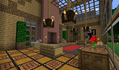 minecraft living room back in time 17 youtube