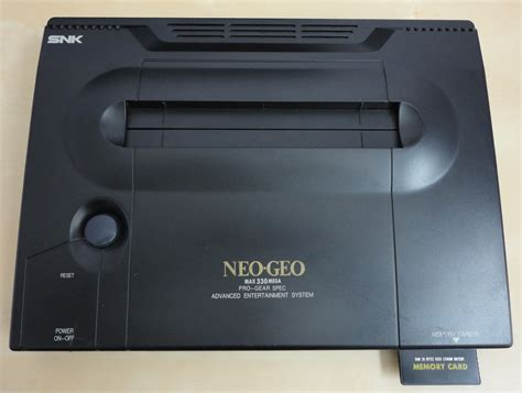 mvs console snk neo geo aes and mvs vintage cpu