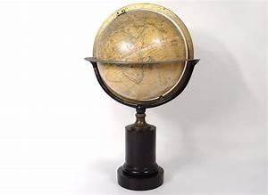 Globe Terrestre Bois : globe terrestre mappemonde charles dien paris cercle ~ Teatrodelosmanantiales.com Idées de Décoration