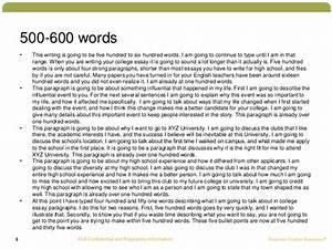 750 to 1000 word essay