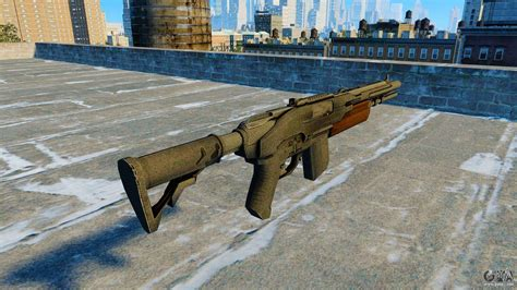 Semi-automatic Shotgun Jackal For Gta 4