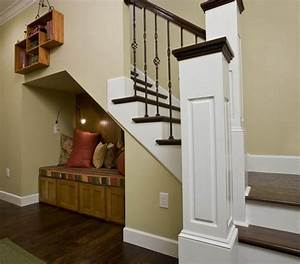 16 interior design ideas and creative ways to maximize for Interior design ideas space under stairs