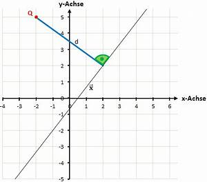 Abstand Punkt Gerade Berechnen : abstand von punkt zu gerade berechen einfach erkl rt ~ Themetempest.com Abrechnung