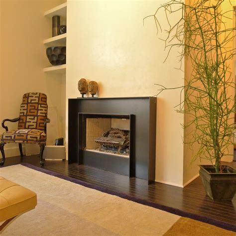 Modern Fireplace Surrounds Are Key Elements Of Style