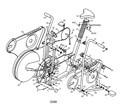 Exercise Bike Parts – Frame, Drive and Flywheel Parts
