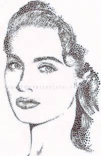 Pointillism Pen Drawing