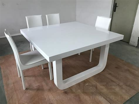 Solid Surface 8 People Home Dining Table