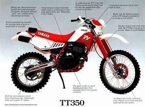 Yamaha Tt350 Factory Repair Manual 1985-2000 Download