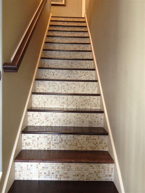 tile  stairs ideas  pinterest wallpaper