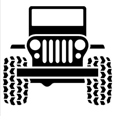 jeep sticker ideas jeep wall decal by ozavinylgraphics on etsy 28 00