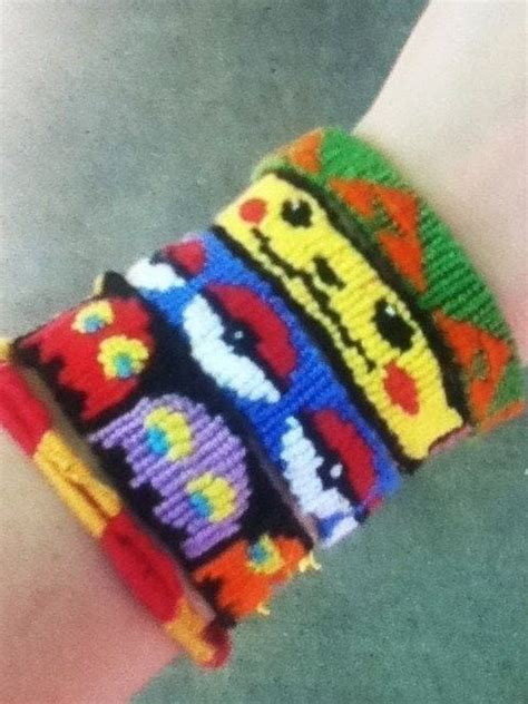 unique friendship bracelets pokemon zelda harry potter