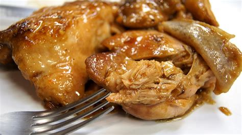 cooker chicken thighs recipes slow cooker orange chicken thigh recipe youtube