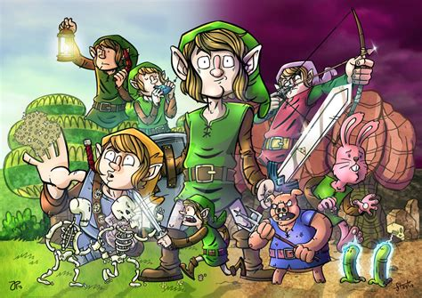 Legend Of Zelda A Link To The Past By Stayte Of The Art