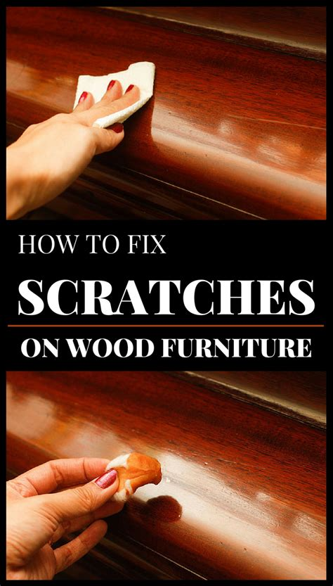How To Fix Scratches On Wood Furniture 101cleaningtipsnet