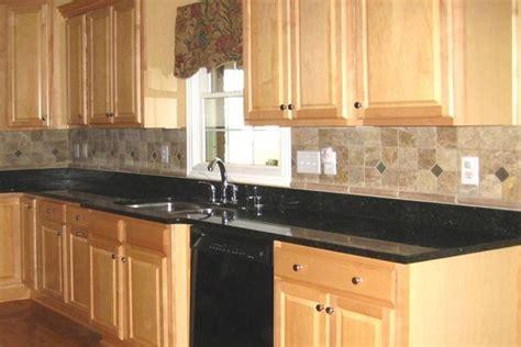 Black Countertop Backsplash by Kitchen Backsplash Tile Design Idea Kitchen Tile