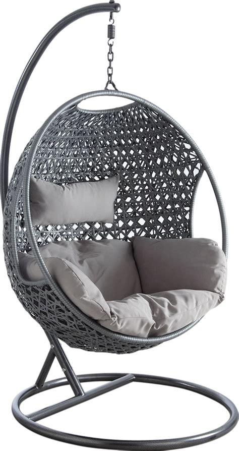 chaise sans pied fauteuil oeuf en polyrésine sur pied