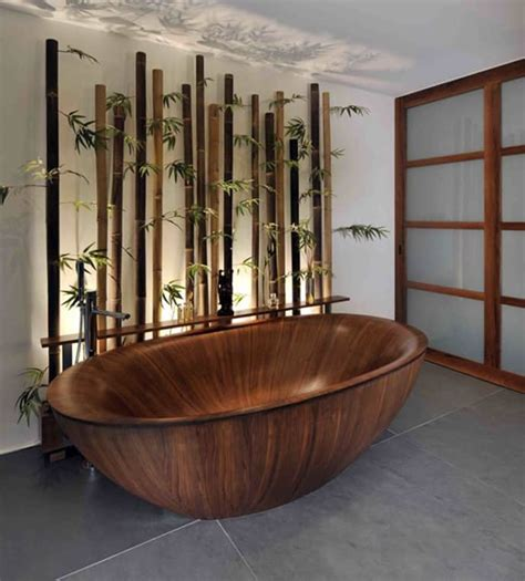bamboo themed bathroom 15 wooden bathtubs that send you back to nature