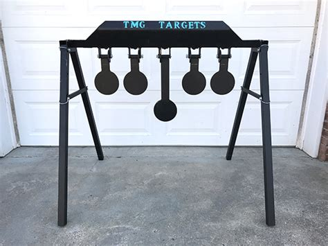 gear review tmg target systems mechanical reset targets  truth  guns