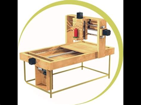 learn   build  cnc woodworking machine