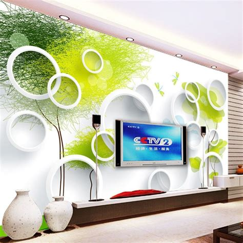 custom  wall murals wallpaper modern abstract circles