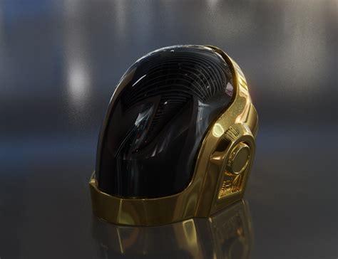 3D guy-manuel daft punk helmet - TurboSquid 1270465