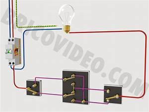 Schema Electrique Va Et Vient 3 Interrupteurs : electricit bricolage va et vient permutateur t l rupteur ~ Medecine-chirurgie-esthetiques.com Avis de Voitures