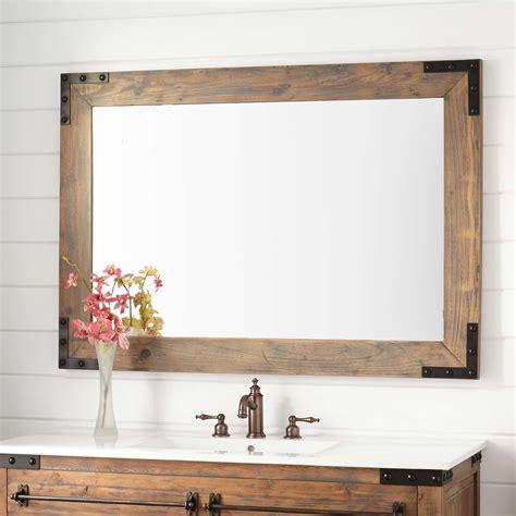 Small Bathroom Vanity Mirrors by Bonner Reclaimed Wood Vanity Mirror Gray Wash Pine