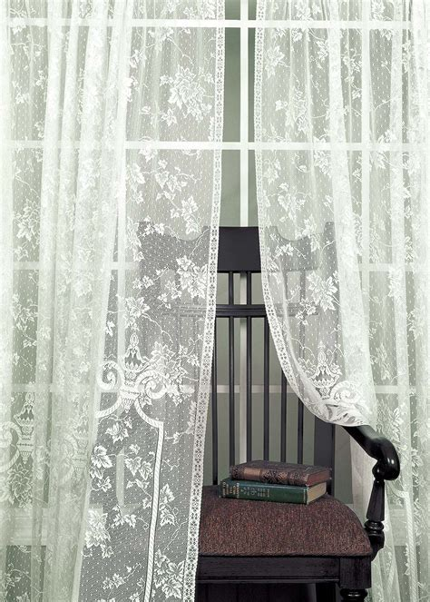 English Ivy Curtains by Heritage Lace: BedBathHome.Com