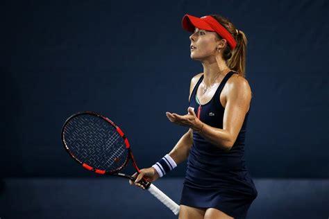 tennis player alize cornet dress code violation   open popsugar uk news