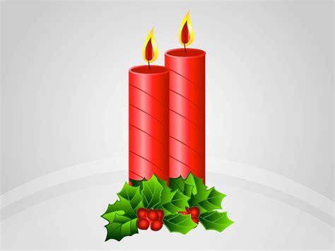 christmas candles vector vector art graphics